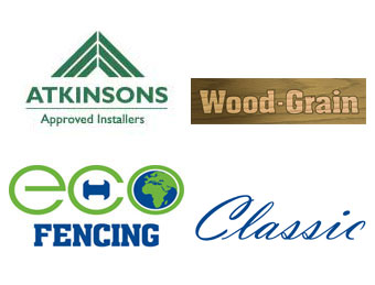 Eco-Fencing and Atkinsons Logos